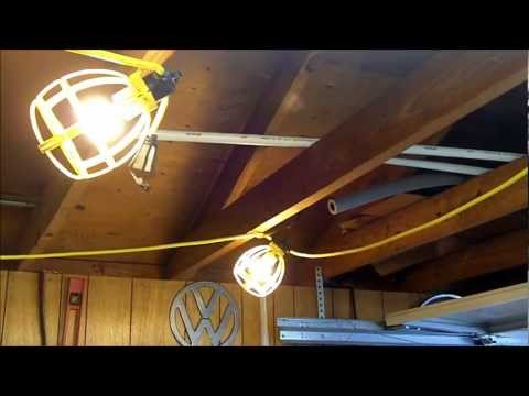 5 String Utility Lights as Extra Video Lighting