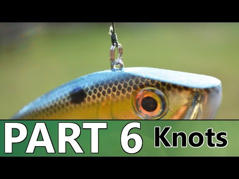 Beginner's Guide to BASS FISHING - Part 6 - Knots and Rigging