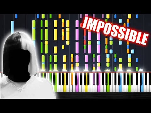 Sia - Cheap Thrills - IMPOSSIBLE PIANO by PlutaX