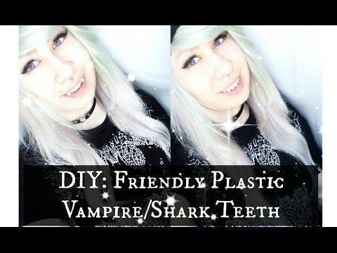 ☾.DIY: Making Vampire/Shark Teeth Friendly Plastic.☾ Ft. MetatronOfficial