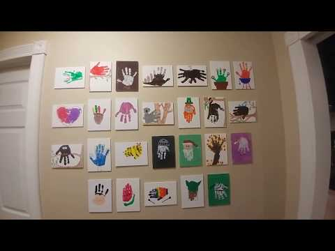 Mommy's Handprint Art Obsession!