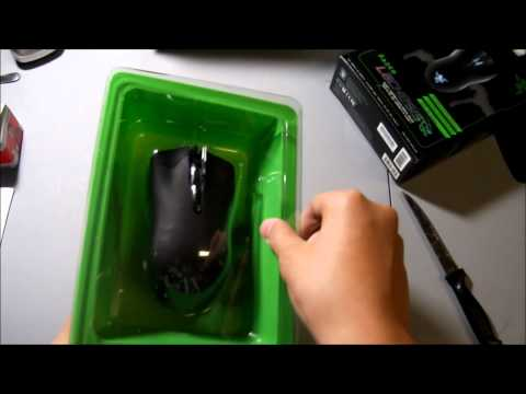 Razer Lachesis 5600 DPI and Razer Kabuto Unboxing and Review (HD)
