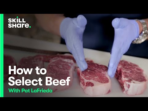 Pat LaFrieda Demonstrates How Meat is Graded and What to Look for When Choosing USDA Meat