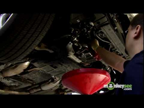 Car Service - Removing and Replacing an Oil Filter