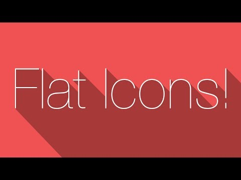 How to Make a Flat Icon in GIMP