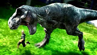 Jurassic World Evolution - WHAT HAPPENS WHEN YOU LET A DINO OUT? - Jurassic World Evolution Gameplay