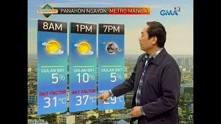 Download UB: Weather update as of 6:05 a.m. (March 26, 2019) Video