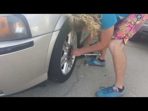 How to get off stuck lug nuts