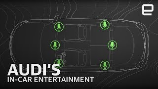 Audi and the future of in-car entertainment at CES 2019