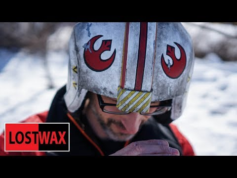 DIY Luke Skywalker X Wing Helmet Build: Paint Disaster!!!?