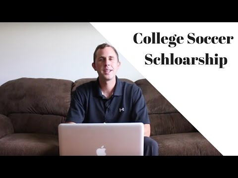 How To Get A College Soccer Scholarship
