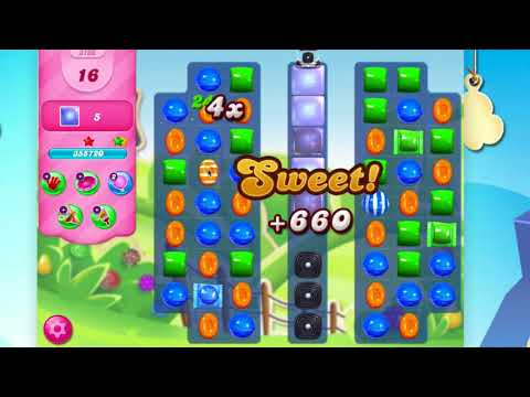 Candy Crush Saga Level 3166  No Booster
