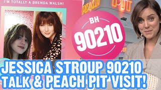 90210 Interview with Silver | Jessica Stroup & Visit the Peach Pit in LA!