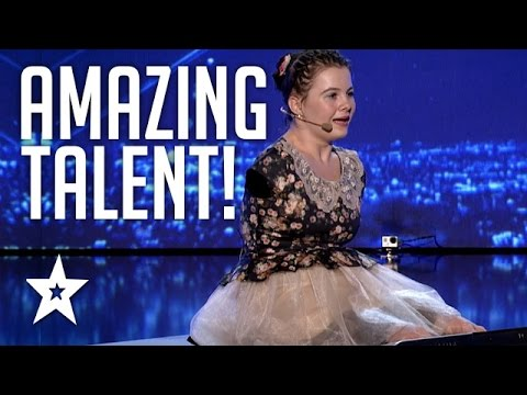 Girl With No Arms Sings & Plays Piano With Her Feet   Romania's Got Talent   Got Talent Global