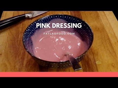 Pink Dressing, Yogurt with a Pickle Twist.