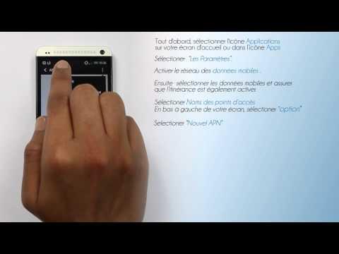 Lycamobile Belgique - Configuration de l'internet pour HTC