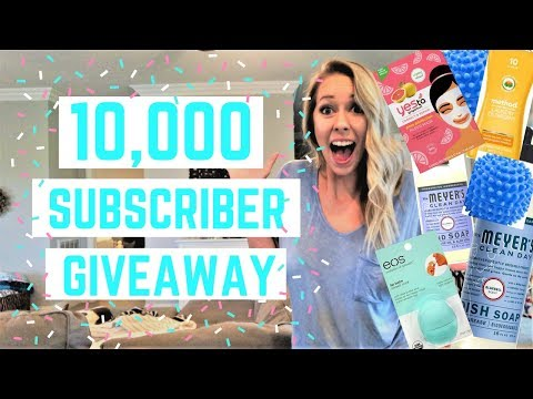 10K SUBSCRIBER GIVEAWAY 2018 | CLOSED