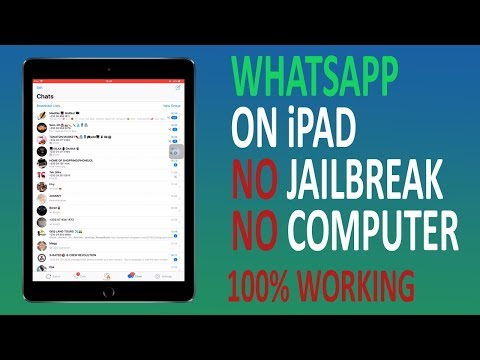 How to get Whatsapp Messenger on iPad and iPod Without Computer Or Jailbreak | iOS 9 - 11