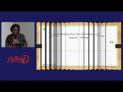 Caroline Dikibo - Lessons Learned from Civic Hacking (PyTexas 2017)