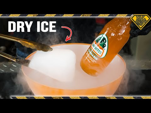 DIY Dry Ice Soda Slushies