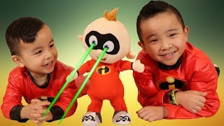 The Incredibles 2 Toys Fightin