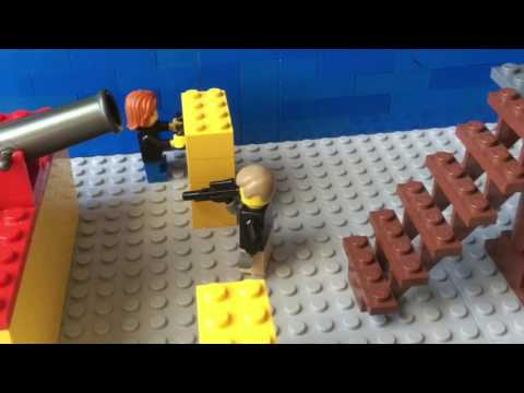 Lego Nerf Gun War
