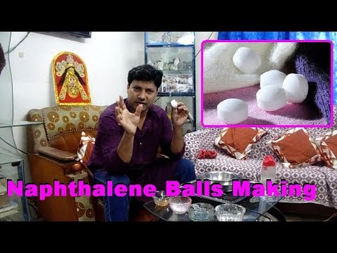 How to make naphthalene balls . Best naphthalene balls making formula. naphthalene balls recipe.