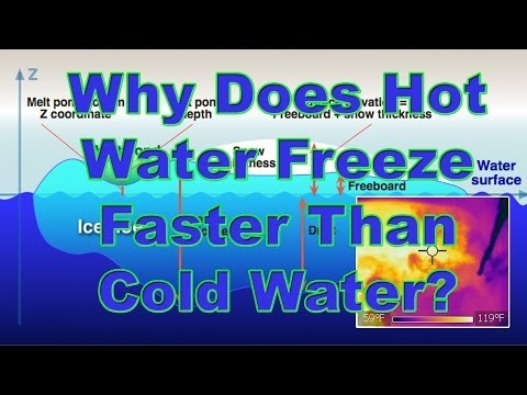 Why Does Hot Water Freeze Faster Than Cold Water?