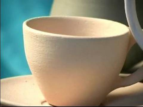 How to Make Pottery : How to Bake Pottery