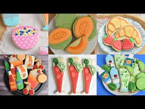 AMAZING FOOD AND DRINKS COOKIES by HANIELA'S