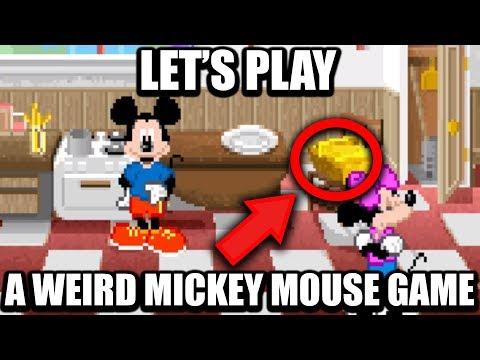 Making Mickey Mouse Do Mundane Chores - PushingUpRoses (ft. LGR)