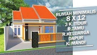 58+ Gambar Rumah Minimalis 8 X 12 Gratis Terbaru