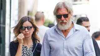 Harrison Ford and Calista Flockhart Make Rare Public Appearance Together in Spain -- See the Pics!