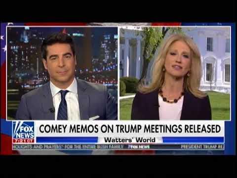 Comey Memos On Trump Meeting Released - Watters Word