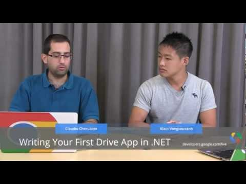 Google Drive SDK: Writing your first Drive app in .NET