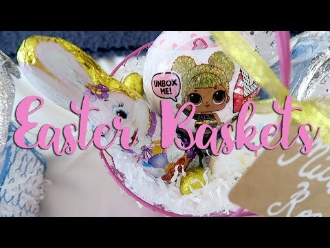 Whats in my kids Easter Baskets!?