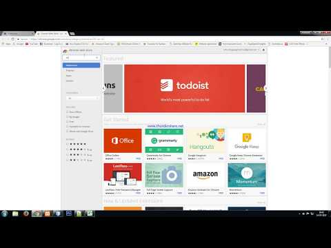 how to go to extensions in new version of  google chrome