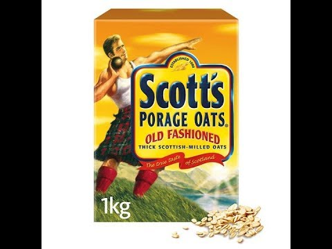 Scotts old fashioned Porage oats 🤗