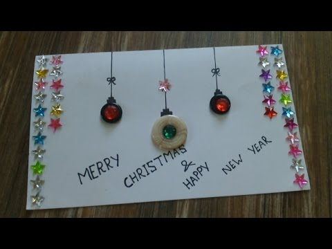 How to make Christmas cards easy | Easy Christmas cards to make
