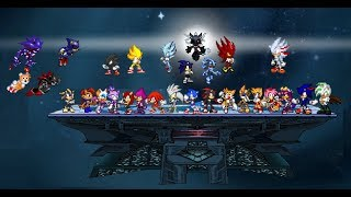 SSF2 MODPACK PART 1: FEATURING SUPER TAILS AND SUPER SHADOW mods