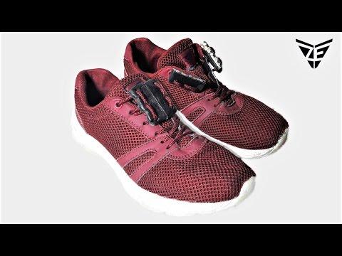 Magnetic Shoe Laces Hack