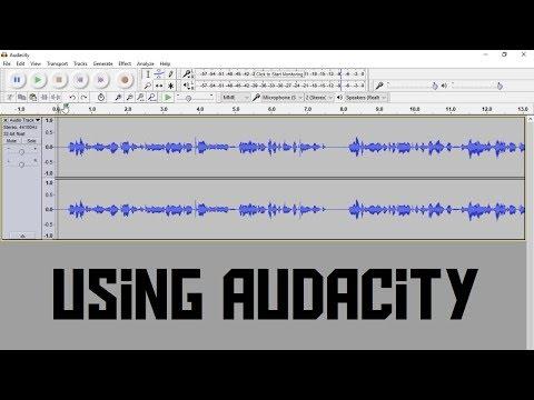 How to use Audacity  - The basics (AKIO TV)