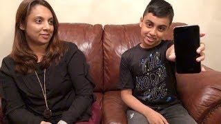 Blooper Reel - 10 Year Old Kid Unlocks Mom