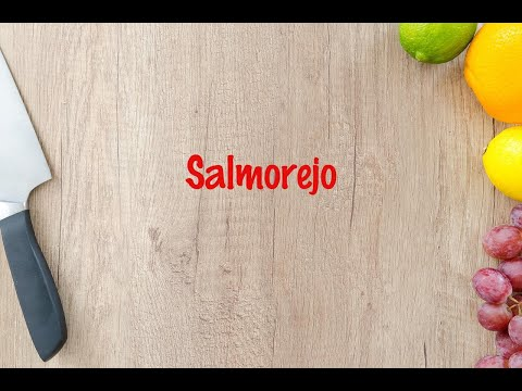 How to cook - Salmorejo