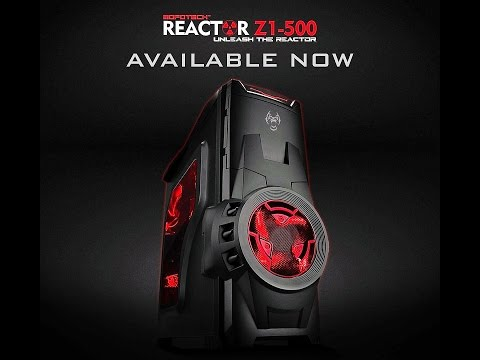 Mofotech Reactor Z1-500 Mid-Tower budget gaming case