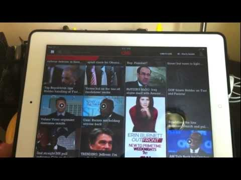 CNN App for iPad Review