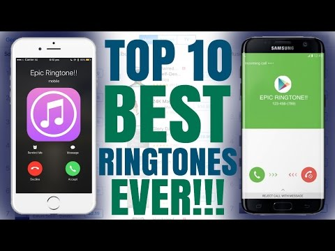 Top 10 Best Ever Ringtones [WITH FREE DOWNLOAD iOS/Android]