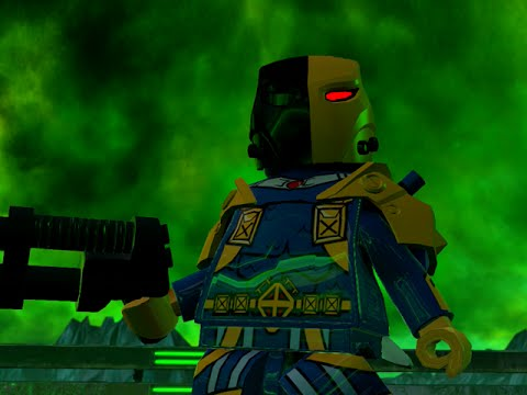 LEGO BATMAN 3 - Deathstroke FREE ROAM GAMEPLAY (The Squad DLC)