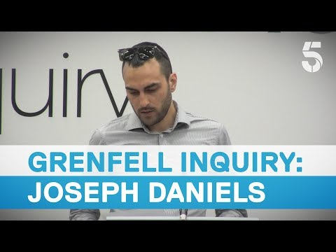Joseph Daniels remembered at Grenfell inquiry - 5 News
