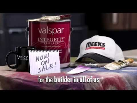Valspar Integrity Paint at Meek's